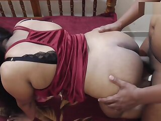 Indian Heavy Bristols Neighbours Wife Clamorous Whimpering Doggy Have sex